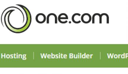 One.com – Promotiecodes